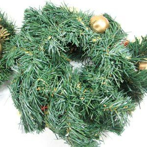 unknown Holiday - Christmas Holiday Candle Rings Artificial Greenery